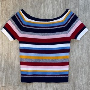 Kendall & Kylie Striped Top - Size Small